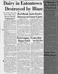 CLEVELAND FARM FIRE 1942