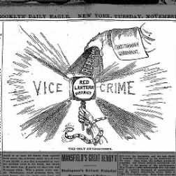 cartoon vice & crime 27 Nov 1900