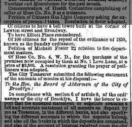 Petition to buy #1 Love Lane by Hose Company 4 7 Aug 1860