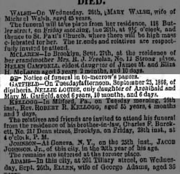 Gatfield Archibald & Mary daughter 27SEP1856