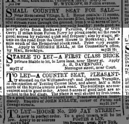 Stable to let love lane near henry 7 Jun 1858