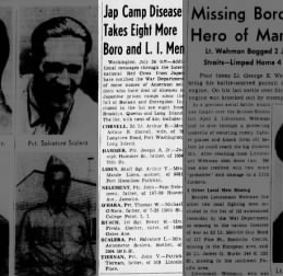 Jap Camp takes 8 More Men, Brooklyn Daily Eagle, 25 July 1943