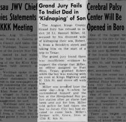Legal and Marital Trouble for Samuel Miller in 1949