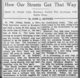 How Our Streets Got That Way - 4/17/29