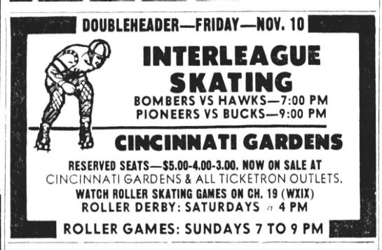 11-10-72 Cincinnati, OH