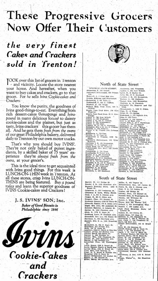 J S Ivins' Son, Inc