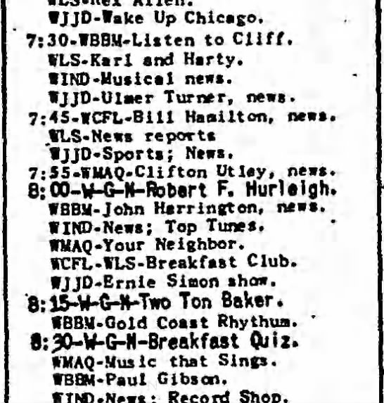 Chicago Tribute, 13 Sep 1948...possibly John Franklin