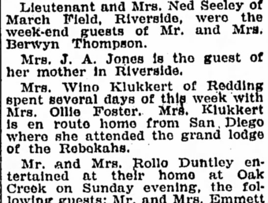 Winona K. Bakersfield Californian 22 May 1936, page 6