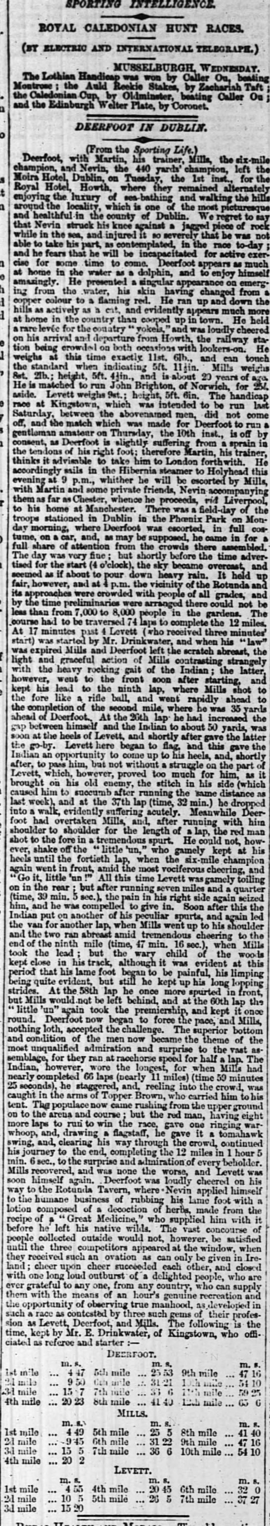 The Times (London) 10 October 1861