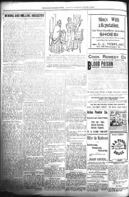 The Daily Deadwood Pioneer-Times from Deadwood, South Dakota on March 11, 1899 · Page 4