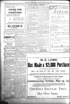 The Daily Deadwood Pioneer-Times from Deadwood, South Dakota on May 16, 1899 · Page 8
