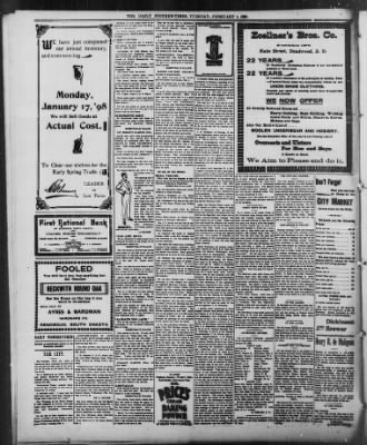 The Daily Deadwood Pioneer-Times from Deadwood, South Dakota on February 1, 1898 · Page 4