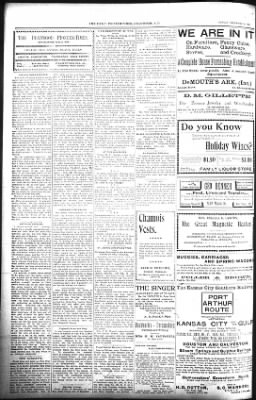 The Daily Deadwood Pioneer-Times from Deadwood, South Dakota on December 30, 1900 · Page 2