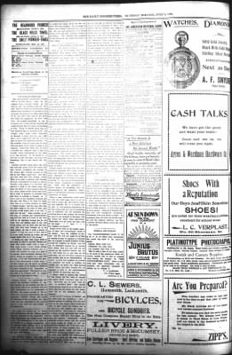 The Daily Deadwood Pioneer-Times from Deadwood, South Dakota on July 6, 1899 · Page 2