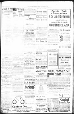 The Daily Deadwood Pioneer-Times from Deadwood, South Dakota on August 19, 1900 · Page 3