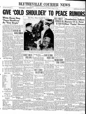 The Courier News from Blytheville, Arkansas on March 19, 1940 · Page 1