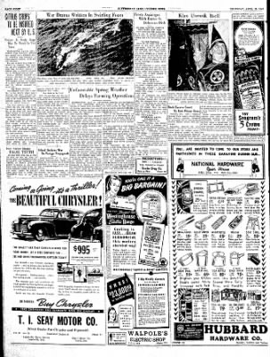 The Courier News from Blytheville, Arkansas on April 25, 1940 · Page 8