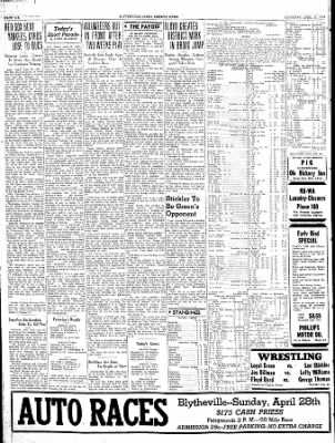 The Courier News from Blytheville, Arkansas on April 27, 1940 · Page 6