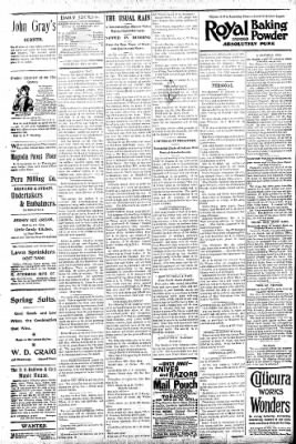 Logansport Pharos-Tribune from Logansport, Indiana on May 30, 1896 · Page 4