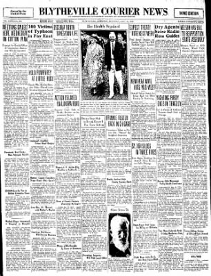 The Courier News from Blytheville, Arkansas on July 19, 1930 · Page 1