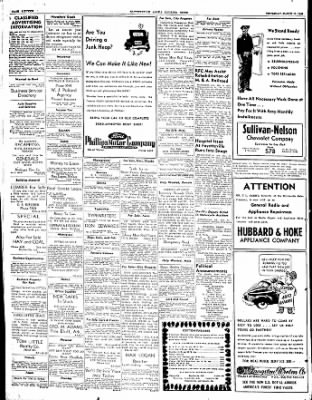 The Courier News from Blytheville, Arkansas on March 11, 1948 · Page 16