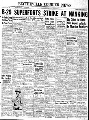 The Courier News from Blytheville, Arkansas on November 11, 1944 · Page 1