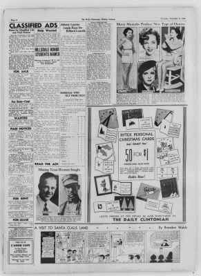 The Daily Clintonian from Clinton, Indiana on December 5, 1936 · Page 6