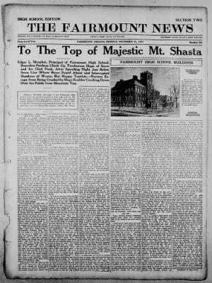 The Fairmount News from Fairmount, Indiana on November 21, 1921 · Page 9