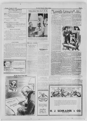 The Daily Clintonian from Clinton, Indiana on December 24, 1936 · Page 9