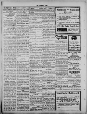 The Fairmount News from Fairmount, Indiana on February 27, 1922 · Page 2