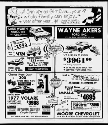 The Palm Beach Post from West Palm Beach, Florida on December 12, 1976 · Page 215
