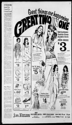The Palm Beach Post from West Palm Beach, Florida on November 3, 1968 · Page 85