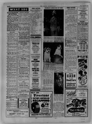 The Daily Clintonian from Clinton, Indiana on August 28, 1944 · Page 6