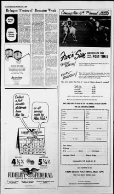 The Palm Beach Post from West Palm Beach, Florida on November 7, 1968 · Page 8