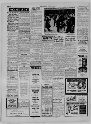 The Daily Clintonian from Clinton, Indiana on October 2, 1944 · Page 6