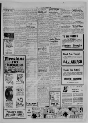 The Daily Clintonian from Clinton, Indiana on November 9, 1944 · Page 5