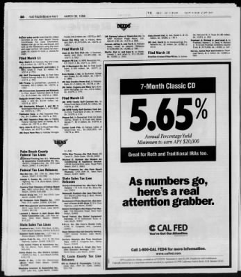 The Palm Beach Post from West Palm Beach, Florida on March 30, 1998 · Page 77