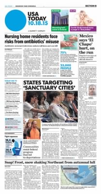 Democrat and Chronicle from Rochester, New York on October 18, 2015 · Page Z1