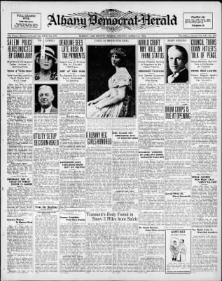 Albany Democrat-Herald from Albany, Oregon on March 16, 1936 · Page 1