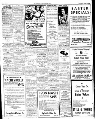 The Courier News from Blytheville, Arkansas on April 16, 1949 · Page 8
