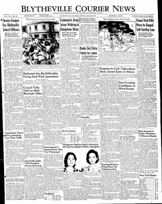 The Courier News from Blytheville, Arkansas on April 29, 1949 · Page 1