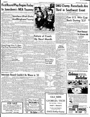 The Courier News from Blytheville, Arkansas on December 31, 1952 · Page 6