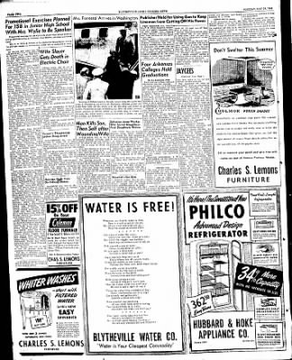 The Courier News from Blytheville, Arkansas on May 24, 1949 · Page 2