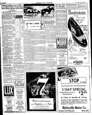The Courier News from Blytheville, Arkansas on May 26, 1949 · Page 6