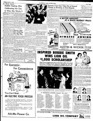 The Courier News from Blytheville, Arkansas on May 13, 1952 · Page 9