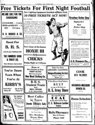 The Courier News from Blytheville, Arkansas on September 29, 1932 · Page 6