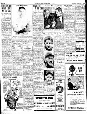 The Courier News from Blytheville, Arkansas on February 12, 1938 · Page 6