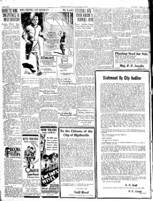 The Courier News from Blytheville, Arkansas on April 6, 1931 · Page 6
