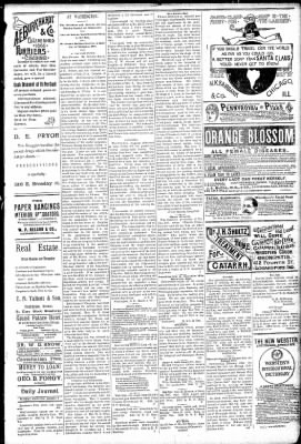 Logansport Pharos-Tribune from Logansport, Indiana on March 8, 1891 · Page 3
