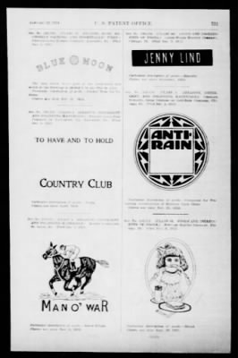 Official Gazette of the United States Patent Office from Washington, District of Columbia on January 22, 1924 · Page 37